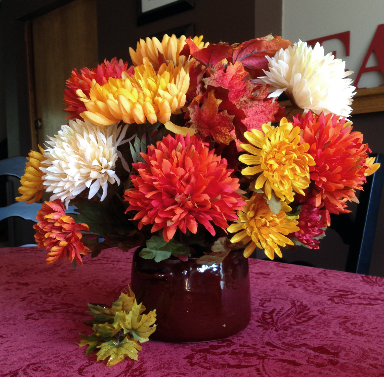 Fall Floral Arrangement DIY Tutorial - Love My DIY Home