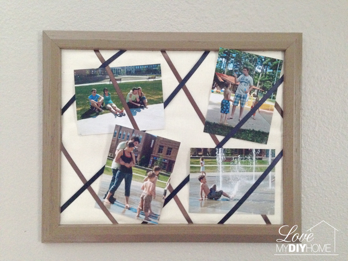 DIY French Photo Frame Tutorial – Re-purpose Old Picture Frames Part 4