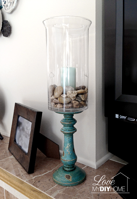 Hobby Lobby Hack DIY Candle Stand