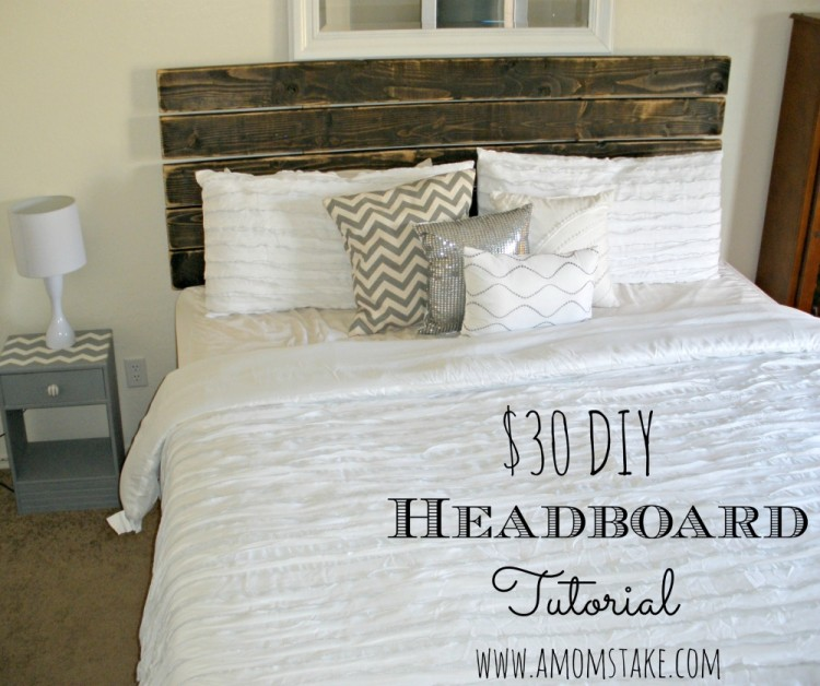 DIY Headboard Tutorial