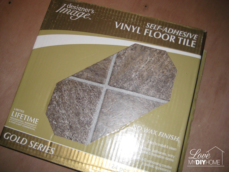 DIY Kitchen floor {Love My DIY Home}