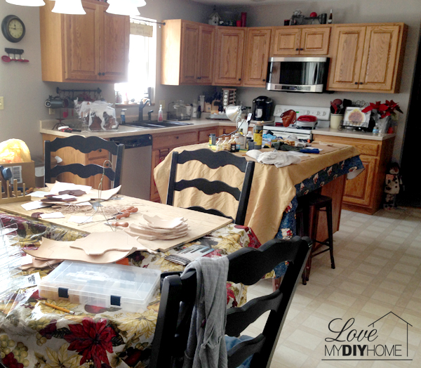A Real Life Home Before and After {Love My DIY Home}