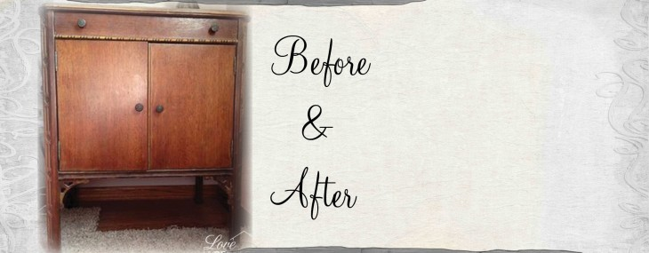 before and after nightstand love my diy home. Black Bedroom Furniture Sets. Home Design Ideas