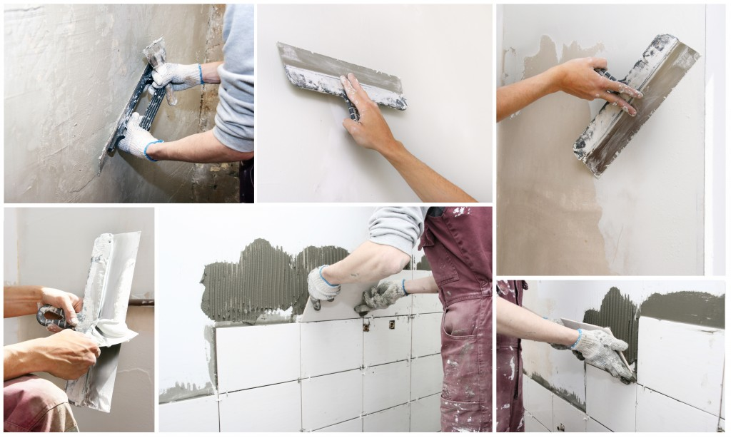 DIY bathroom tile installation {Love My DIY Home}