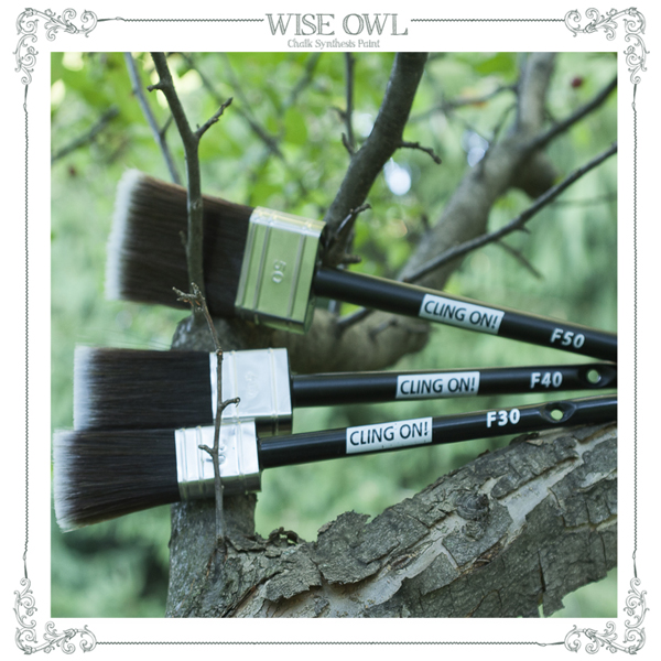 Cling On Paint Brushes {Love My DIY Home}
