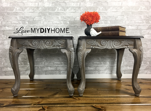 Twin End Tables Cora & Nora {Love My DIY Home}