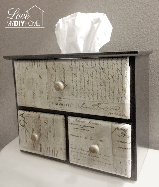 Tissue Box Revived {Love My DIY Home}