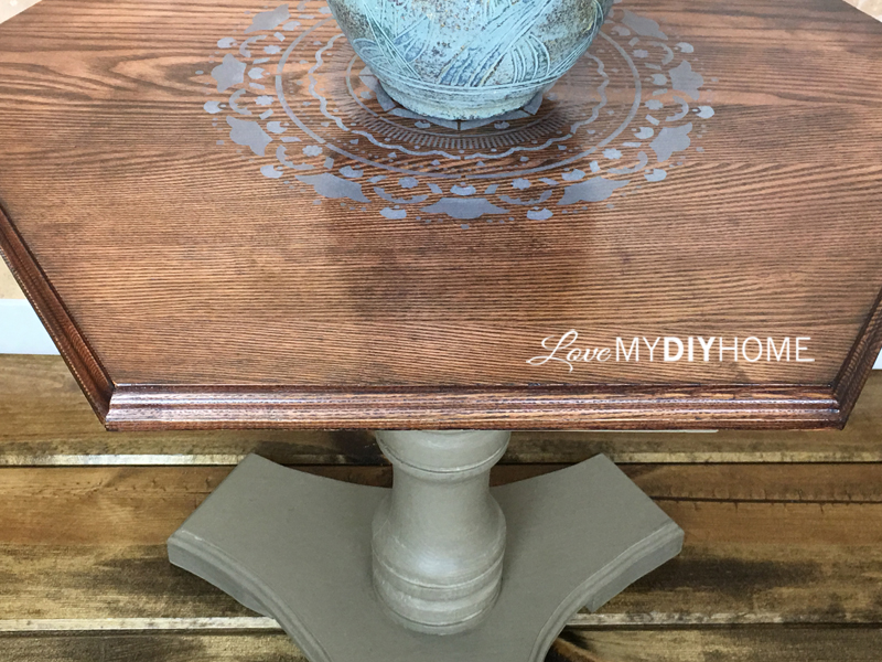 End Table Pure and Original {Love My DIY Home}