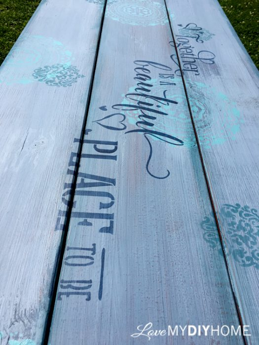 A Picnic Table Flips! {Love My DIY Home}