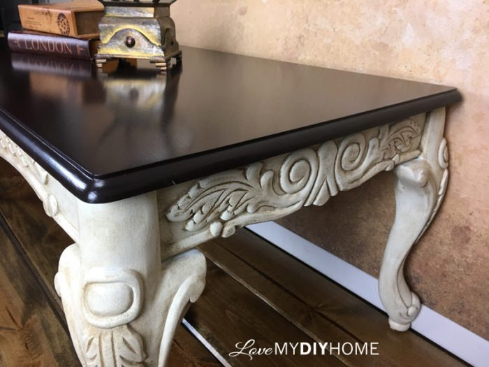 Re-designed Coffee Table {Love My DIY Home}